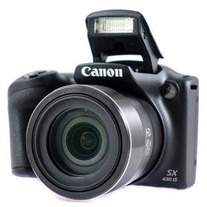 Kamera Canon PowerShot SX430IS BK - Garancija 2god