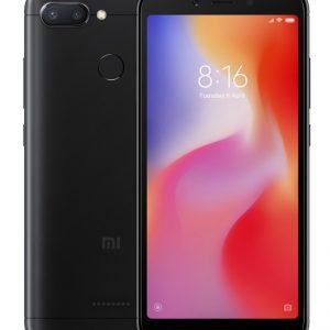 Xiaomi Redmi 6 EU 3+32 Black - Garancija 2god