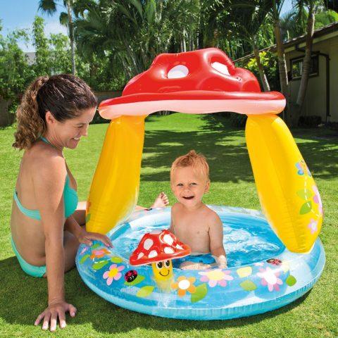 Dečiji bazen u obliku pečurke - Intex
