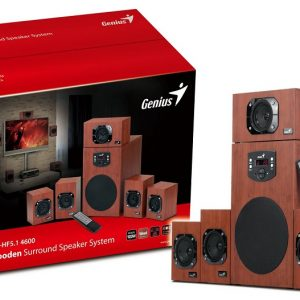 Genius Zvučnici SW-HF5.1 4800, WOOD - Garancija 2god