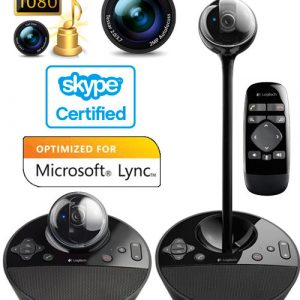 Logitech BCC950 HD, Conferencecam, Black - Garancija 2god