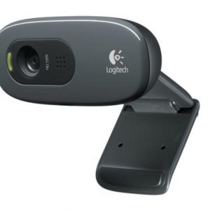 Logitech C270 HD Webcam, Black for Win 10, New - Garancija 2