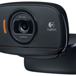 Logitech C525 HD Webcam, Black, USB, Win 10 - Garancija 2god