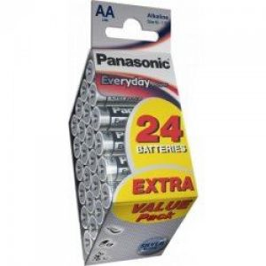 PANASONIC baterije LR6EPS/24PD-AA 24kom Alkalne Everyday