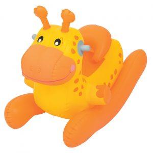 Igračka na naduvavanje - žirafa i dinosaurus