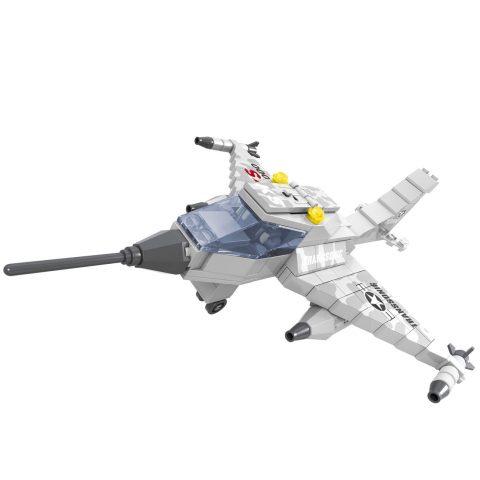 Kockice za slaganje - avion sa dodacima