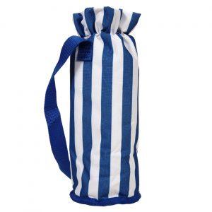 Rashladna torbica za flašu 1,5 L belo - plave boje