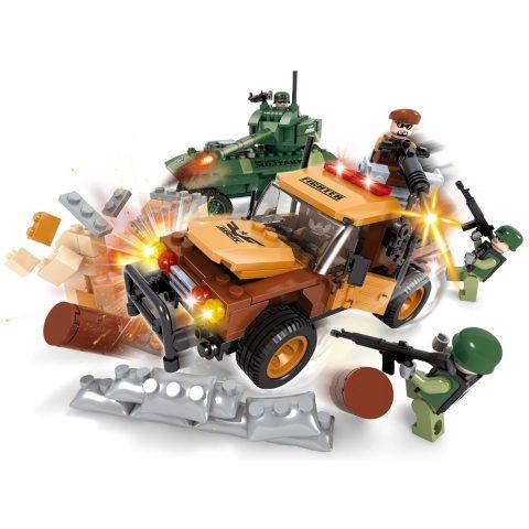 Vojna vozila - kockice