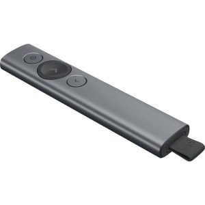 Logitech Spotlight Presentation Remote - SLATE, New