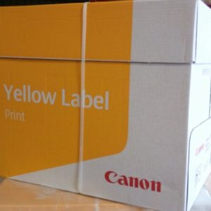 Canon yellow label A4 paper 80