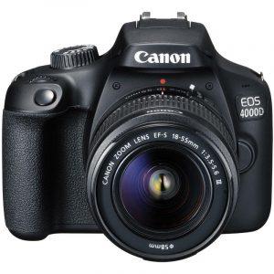 Fotoaparat CANON EOS 4000D BK 18-55 SEE - Garancija 2god