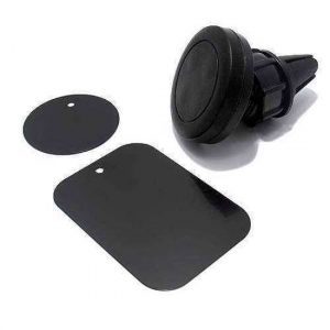 Drzac za mobilni telefon 360 rotirajuci magnetni crni (venti