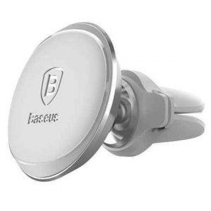Drzac za mobilni telefon BASEUS AIR magnet cable clip sivi