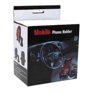 Drzac za mobilni telefon D20 crni (vakum)