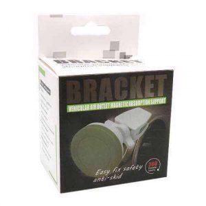 Drzac za mobilni telefon Bracket 360 magnetic belo-crni (ventilacija)