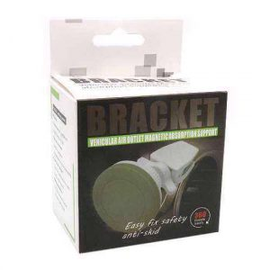 Drzac za mobilni telefon Bracket 360 magnetic belo-sivi (ventilacija)