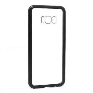 Futrola Magnetic frame za Samsung G955F Galaxy S8 Plus crna