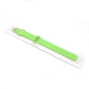 Narukvica za Apple Watch 1-4 sat silikonska svetlo zelena (CN31)