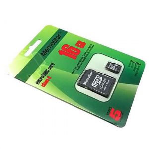Memorijska kartica MemoStar Micro SD 16GB Class 6 + SD adapt