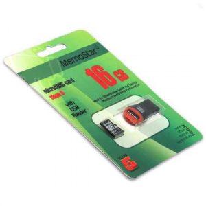 Memorijska kartica MemoStar Micro SD 16GB Class 10 UHS + USB