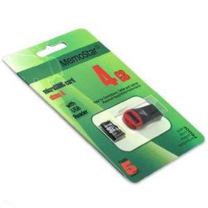 Memorijska kartica MemoStar Micro SD 4GB Class 10 UHS + USB