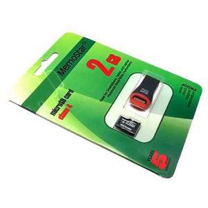 Memorijska kartica MemoStar Micro SD 2GB Class 4 + USB citac