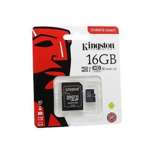 Memorijska kartica Kingston Micro SD 16GB Class 10 UHS U1