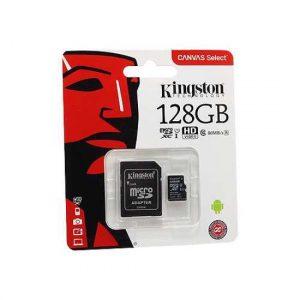 Memorijska kartica Kingston Micro SD 128GB Class 10 UHS U1 + SD adapter
