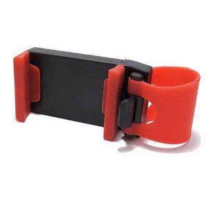 Drzac za mobilni telefon QX za volan crno-crveni