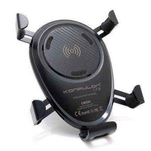 Drzac za mobilni telefon KONFULON + WiFi punjac CMQ01 FAST crni