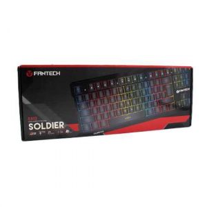 Akcija Tastatura gejmerska zicna K612 crna FANTECH
