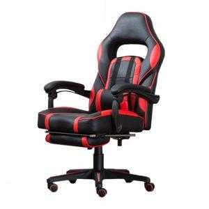 Stolica gejmerska ZK8069 crno-crvena