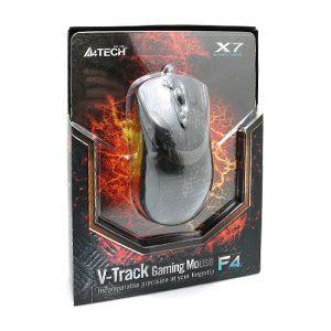 Mis gejmerski zicni F4 X7 V-Track Laser USB crni A4TECH