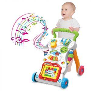 Multifunkcionalna muzička igračka hodalica 2 u 1 za decu