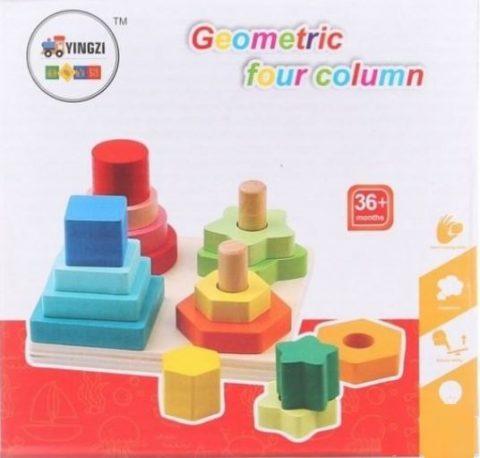 Manji set geometrijskih oblika - 3+ age