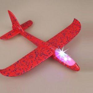 Avion od stiropora sa LED svetlima - 48cm