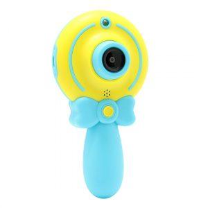 Fotoaparat za decu sa drskom plavo-zuti