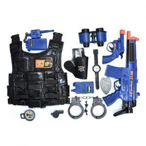Policijski set - pancir i oružje