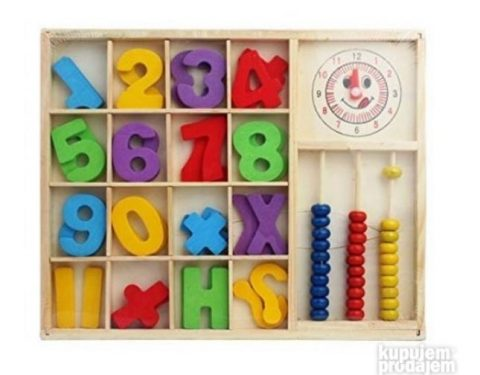 Edukativna igracka za ucenje matematickih operacija model 1
