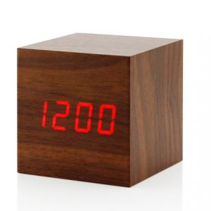 WOODEN CLOCK - drveni digitalni sat