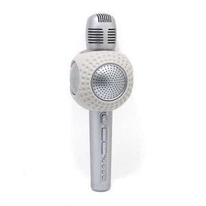 Mikrofon JY52 Bluetooth srebrni
