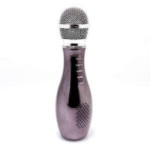 Mikrofon V007 Bluetooth sivi