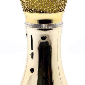 Mikrofon V007 Bluetooth zlatni