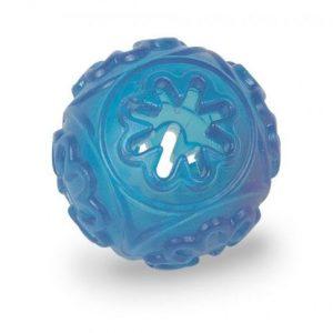 TPR Lopta za poslastice 7cm plava