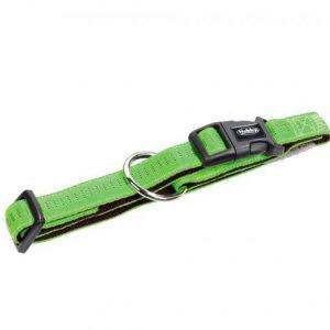 Ogrlica za pse Soft Grip 20mm, 30/45cm zeleno braon