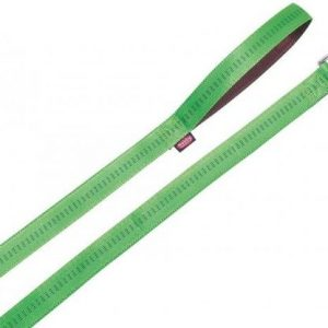 Povodac Soft Grip 120cm, 20mm zeleno braon